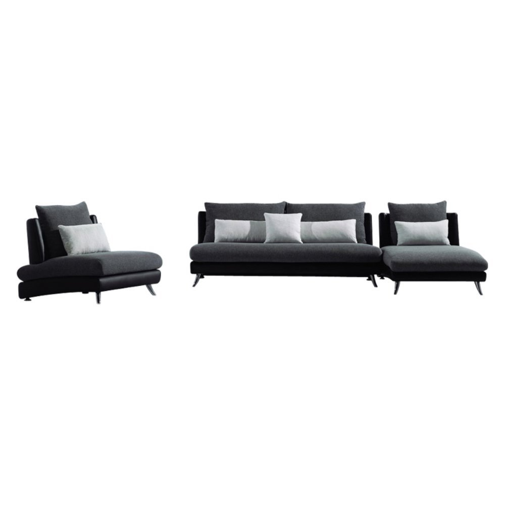 Furniture of America Pescara Sectional Sofa Set