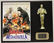 GODZILLA VERSUS MECHAGODZILLA LTD EDITION OSCAR MOVIE POSTER DISPLAY ***FREE U.S. SHIPPING***