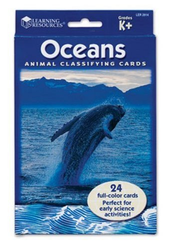 Learning Resources Animal Classifying Cards, Oceans - Buy Learning Resources Animal Classifying Cards, Oceans - Purchase Learning Resources Animal Classifying Cards, Oceans (Learning Resources, Toys & Games,Categories)