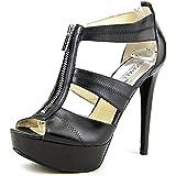 Michael Kors Linden Berkley Open Toe Leather Sandals