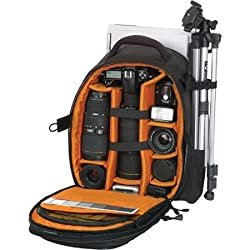 numex tycon professional backpack camera notebook laptop mobile tripod bag 17