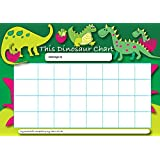 Sticker Solutions A4 Dinosaur Reward Chart with 25 Stickers