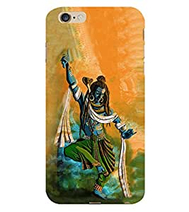 99Sublimation Lord Shiva 3D Hard Polycarbonate Back Case Cover for Apple iPhone 6