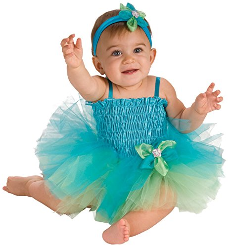 Rubie's Costume Co Baby Girl's Infant Blue and Green Tutu Costume