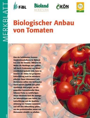 biologischer anbau von tomaten medizin. Black Bedroom Furniture Sets. Home Design Ideas