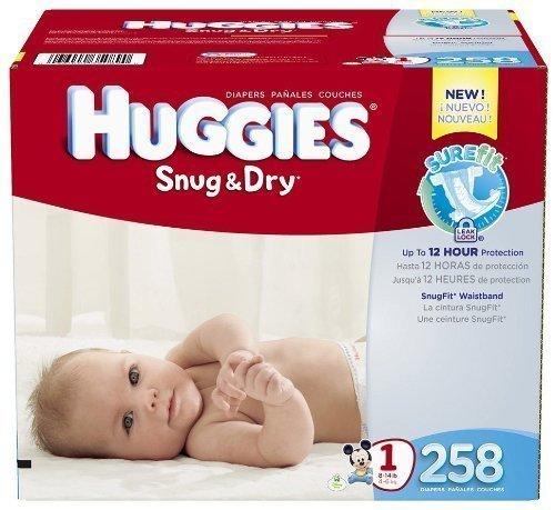 Huggies Snug & Dry front-1037800
