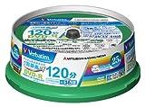 三菱化学メディア Verbatim DVD-R(CPRM) 1回録画用 120分 1-16倍速 スピンドルケース 25枚パック ワイド印刷対応 ホワイトレーベル VHR12JP25V1