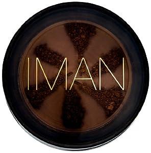 Iman Cosmetics Second To None Semi Loose Powder, Earth Dark