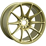 XXR 527 18 Gold Wheel / Rim 5x100 & 5x4.5 with a 20mm Offset and a 73.1 Hub Bore. Partnumber 52788547
