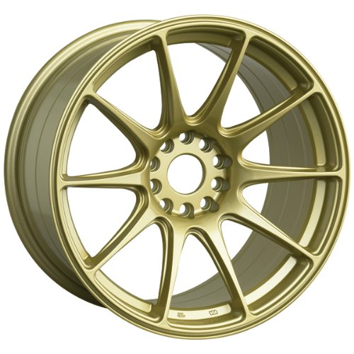 XXR 527 17 Gold Wheel / Rim 5x100 & 5x4.5 with a 25mm Offset and a 73.1 Hub Bore. Partnumber 52778547 (Gold Rims compare prices)