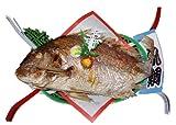長崎県産 天然真鯛 焼祝い鯛 【お祝い】