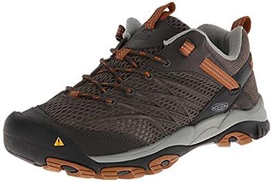 Keen Men's Marshall Hiking Shoe,Black Olive/Glazed Ginger,8.5 M US