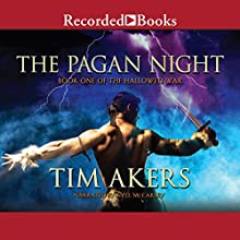 The Pagan Night: Book One of the Hallowed War Audiobook by Tim Akers Narrated by Kyle McCarley