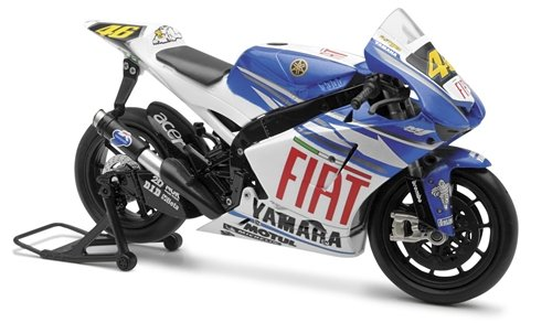 New Ray Toys Fiat MotoGP Rossi Sportbike 1:12 Scale 57213