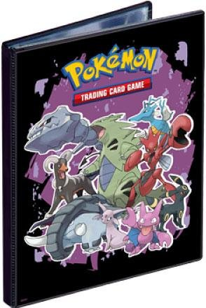 Ultra Pro Pokemon Card Supplies 4-Pocket Binder Gen4 [Steelix, Tyranitar, Houndoom, Espion & Umbreon] - 1