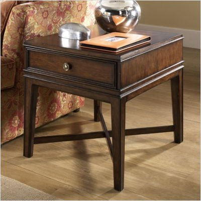 Cheap Hammary T1053221-00 American Directions Rectangular Drawer End Table in Aged Cherry (T1053221-00)