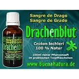 BuenaNatura - Drachenblut aus Wildsammlung - 100% rein - Sangre de Grado Drago - 100ml