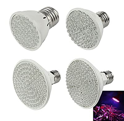 MOKAO New E27 (38~138)LED Plant Grow Light Bulb Garden Hydroponic Lamp