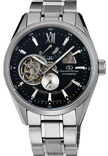 [Orient] Orient Watch orientstar Orient Star moderno scheletro meccanico automatico (con avvolgimento manuale) Nero WZ0181DK Uomo