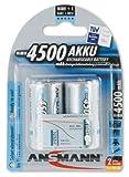 Ansmann 5035362 maxE 4500mAh 2x C Size Precharged NiMH Batteries