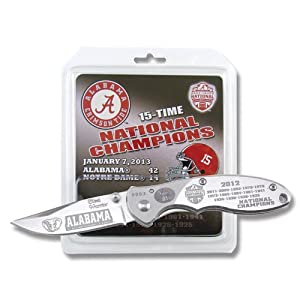 Buy Frost 2012-2013 Alabama Crimson Tide National Champions Linerlock by Frost