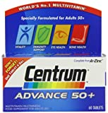 Centrum Advance 50 Plus - Pack of 60