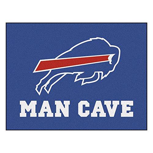 FANMATS 14272 NFL Buffalo Bills Nylon Universal Man Cave All-Star Mat