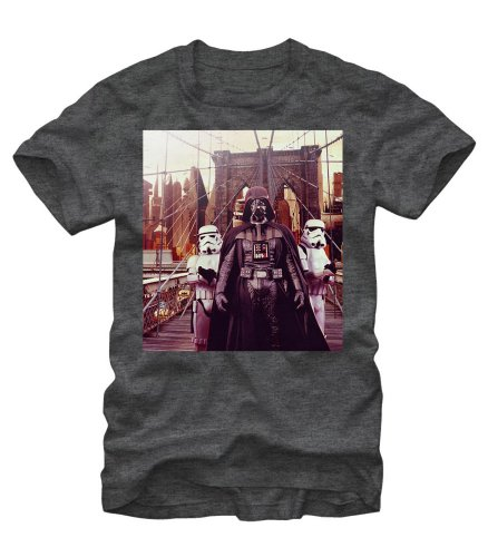 Star Wars Darth Vader Bridge Crossing T-Shirt (Large)