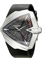 Hamilton Men's H24655331 Ventura Analog Display Automatic Self Wind Black Watch