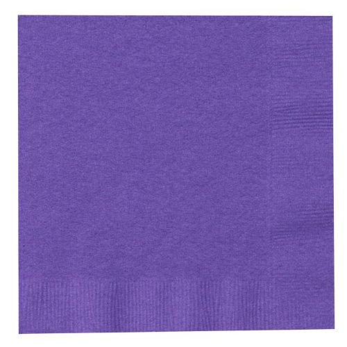 Perfect Purple (Purple) Beverage Napkins