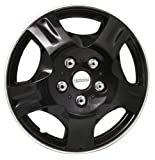 Michelin 9033 13-inch Wheel Cover Set - Black - Car