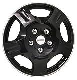 Michelin 9033 13-inch Wheel Cover Set - Black - Car Wheel Trims (Set of 4)