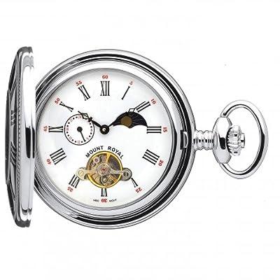 Mount Royal Pocket Watch B31CP Chrome Plated Half Hunter