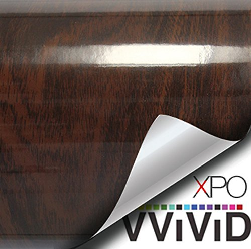 vvivid-high-gloss-dark-brown-cedar-striped-wood-grain-faux-finish-textured-vinyl-wrap-contact-paper-