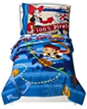Jake Neverland Pirates Toddler Bedding Set Comforter Sheets