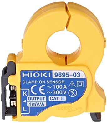 Hioki 9695 Clamp-On Sensor with Connection Cord