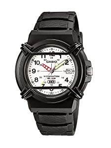 Casio HDA-600B-7BVEF Men's Analogue Watch with Resin Strap