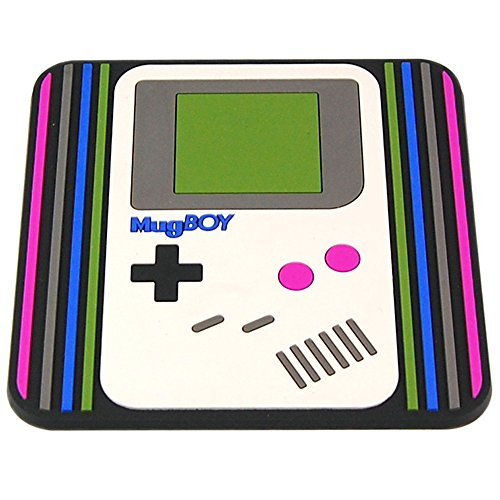 Gameboy Style Coaster. Classic Gamer Retro Gift Idea for Him and Her