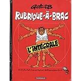 Rubrique-�-Brac - Int�grale - tome 1 - Int�grale Rubrique � bracpar Gotlib