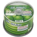HIDISC CD-RW 650MB 50枚 繰り返し記録用 HD CDRW74 4X50P_Outlet