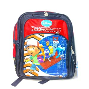 Disney Handy Manny School Bag (Red Indigo)