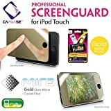 CAPDASE 日本正規品 iPod touch 2nd & 3rd Generation Professional Screen Guard mira 'Gold Glass Mirror' 第2、第3世代 iPod touch 用 「ゴールド・ミラー」 液晶保護シート SPIPT2-MG