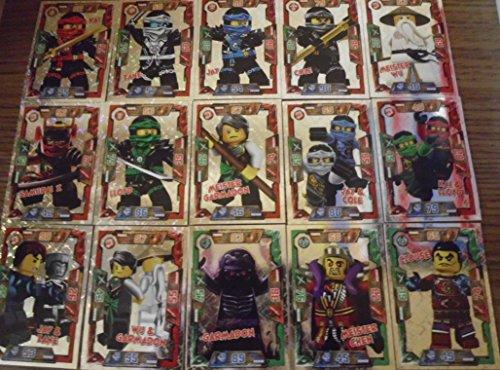 Lego Ninjago Trading Card Game Spezial Foil Karten alle 36