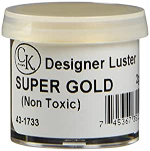 CK Products Luster Dust, Super Gold/43-1733, 2 Gram