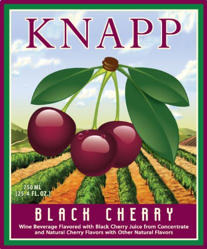 Nv Knapp Winery Black Cherry 750 Ml