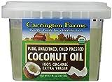 Carrington Farms Organic Extra Virgin Coconut Oil, 12 Ounce