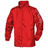 Lotto Mens Football Sports Jacket WN Zenith (M) (Flame Red)