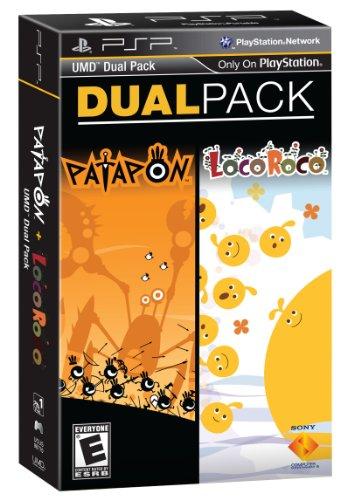 PSP Dual Pack- Patapon & LocoRoco - 1