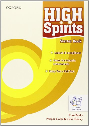 High spirits. Student's book-Workbook-Extra book. Con espansione online. Per la Scuola media. Con CD-ROM: 1
