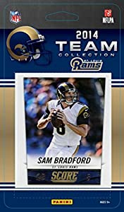 St. Louis Rams 2014 Score NFL Football Factory Sealed 13 Card Team Set with Sam Bradford, Tavon Austin, Michael Sam Plus